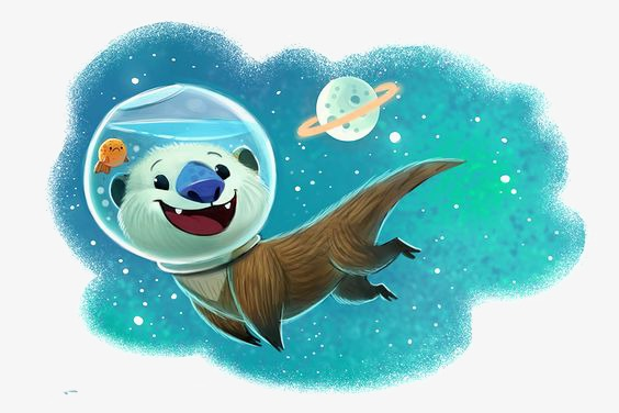 Astronaut clipart bear. Illustration outer space png