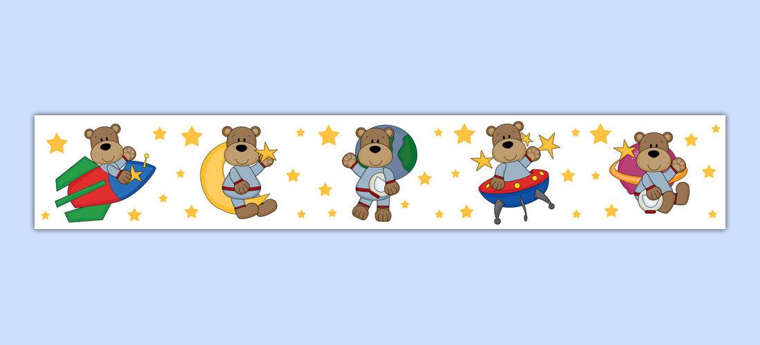 Teddy bears wallpaper wall. Astronaut clipart bear