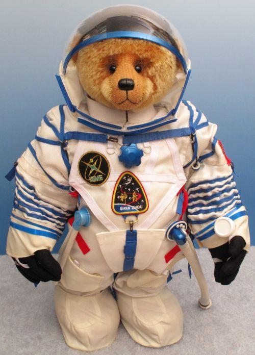 Astronaut clipart bear. Teddy brenda parker kiddy