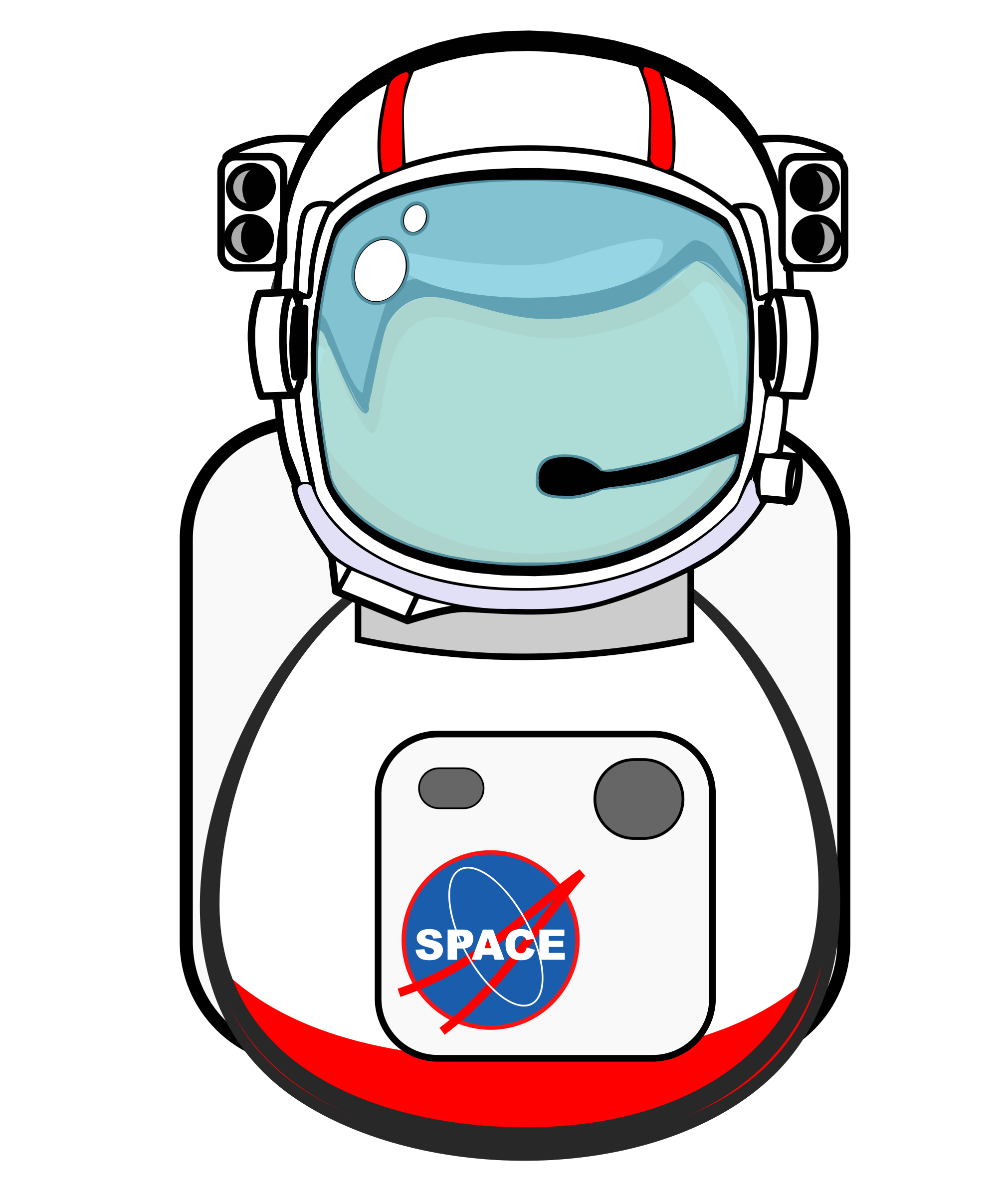 Big image png. Astronaut clipart body