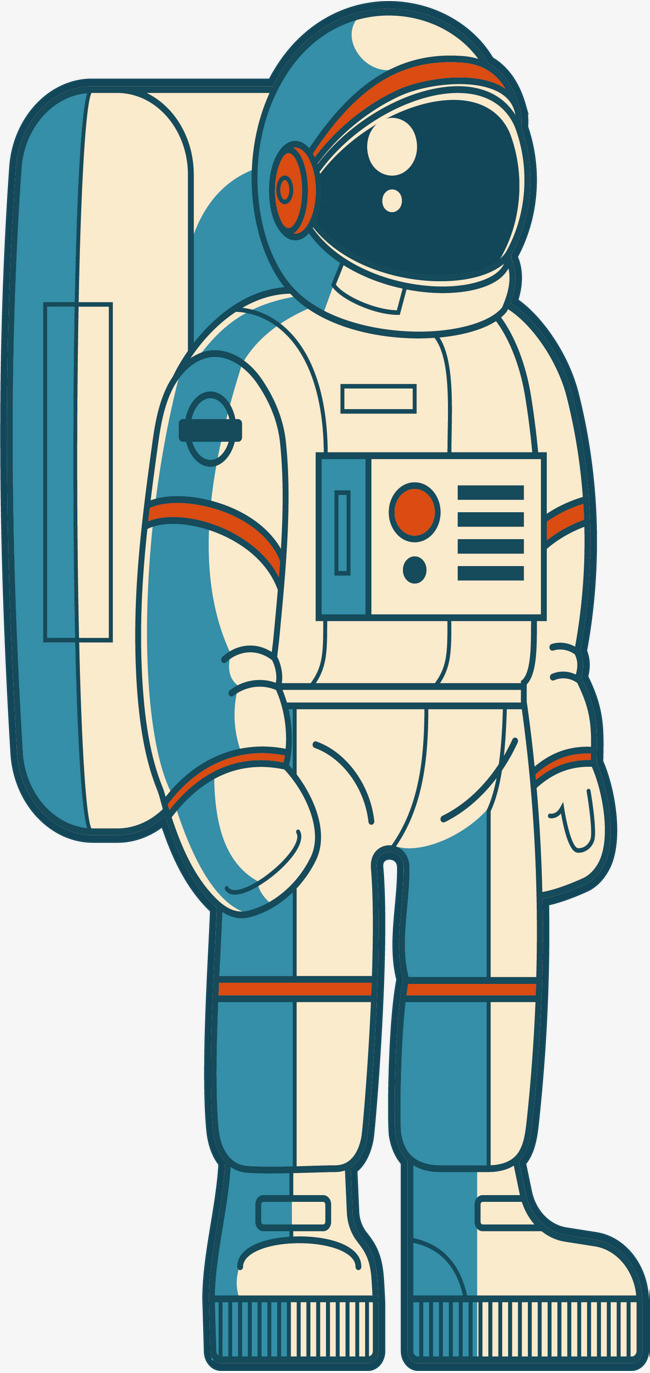 Space astronauts vector png. Astronaut clipart body