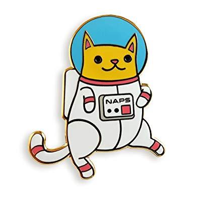 Amazon com pinsanity astro. Astronaut clipart cat
