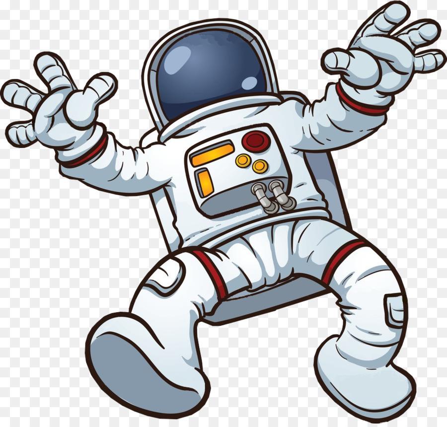 Cartoon technology . Astronaut clipart clip art