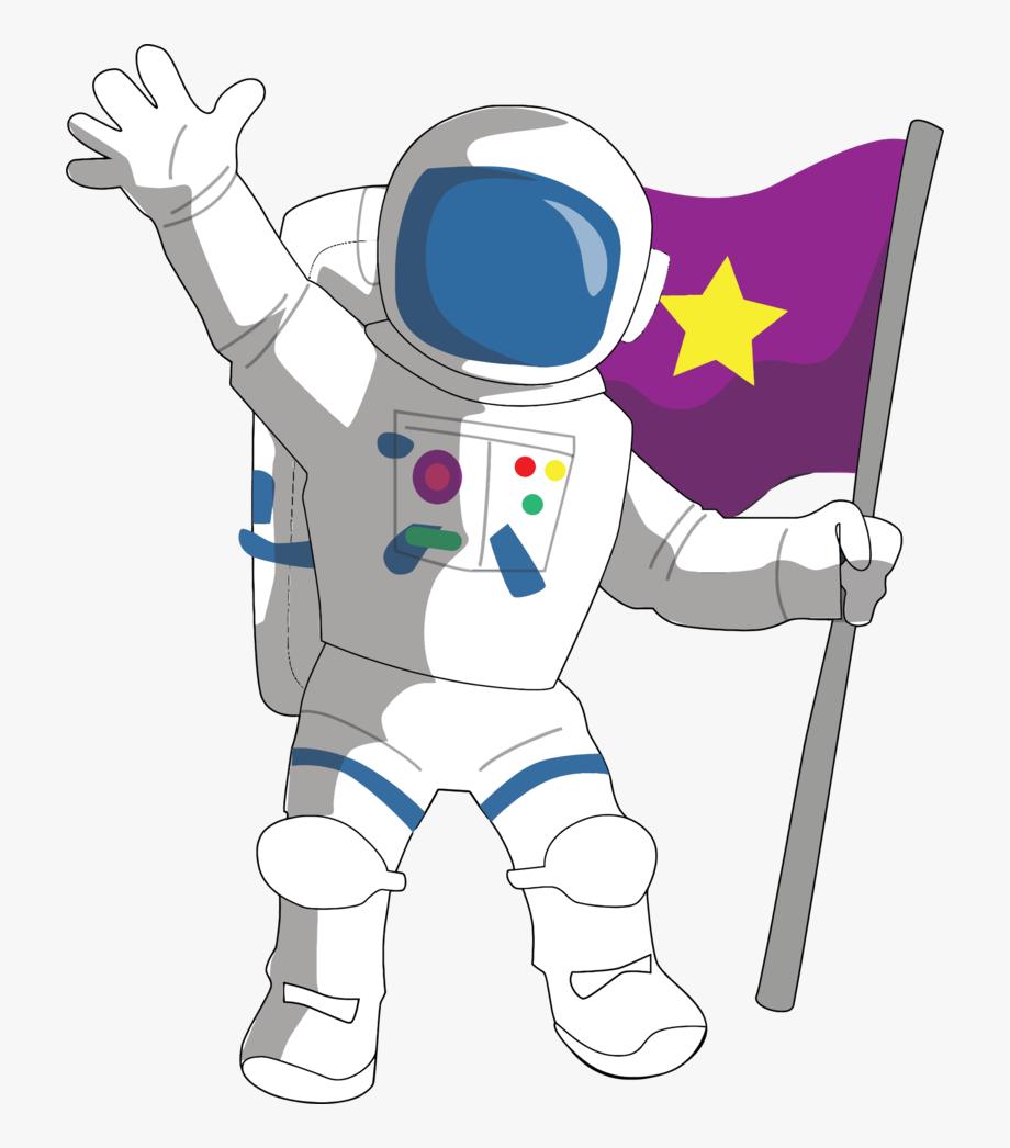 Transparent background . Astronaut clipart clip art