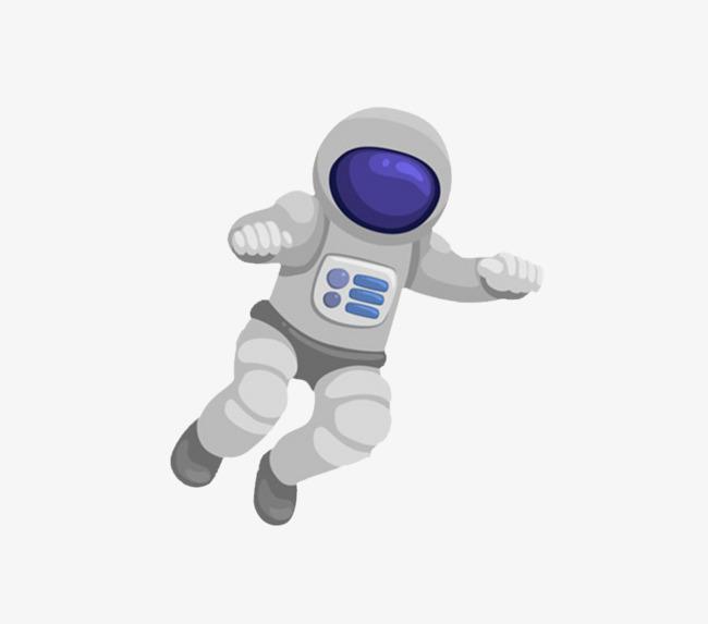 Astronaut clipart comic. Cartoon character material png
