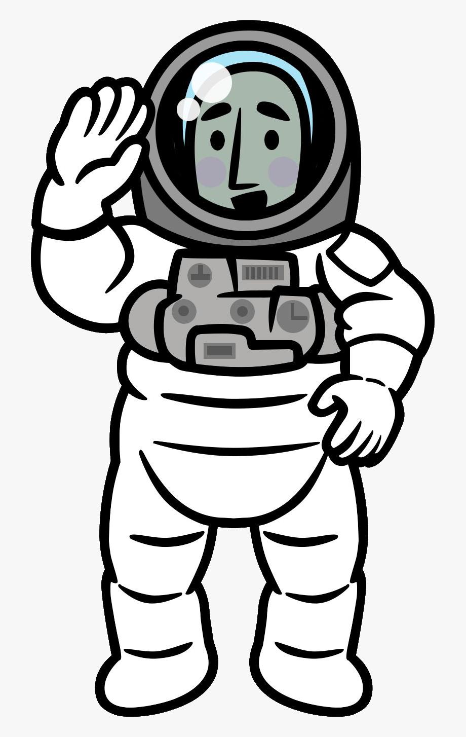 Rhythm heaven first contact. Astronaut clipart comic
