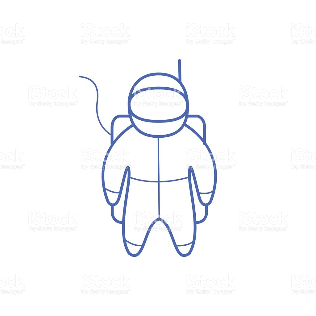 Astronaut clipart easy.  collection of simple
