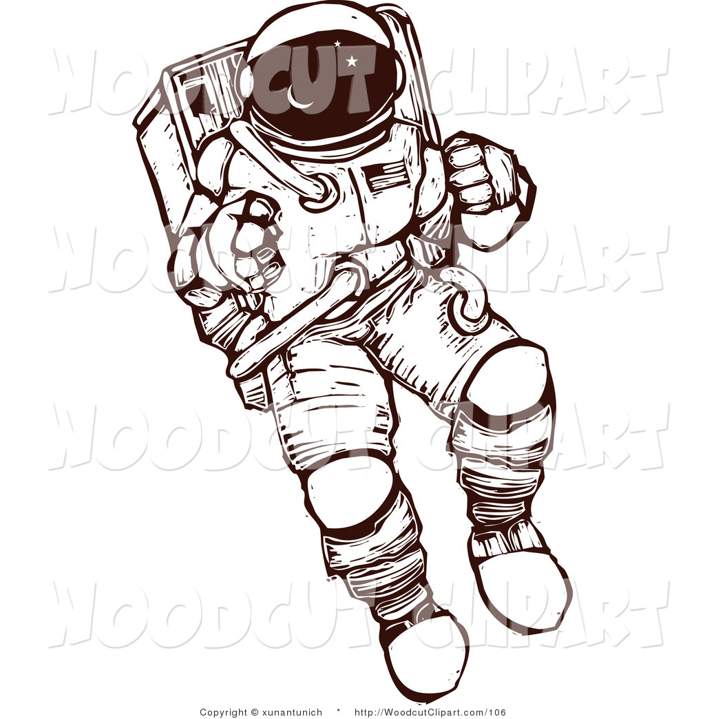 Image of outfit clip. Astronaut clipart easy