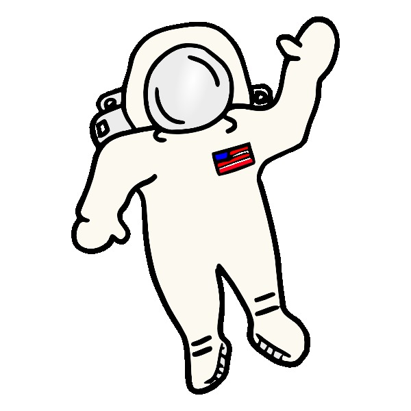 collection of suit. Astronaut clipart easy