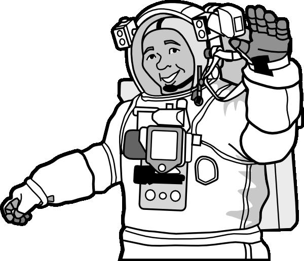 Clipart bread gambar. Smiling astronaut clip art