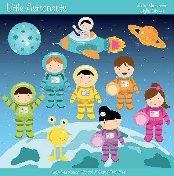 Clip art pics about. Astronaut clipart little