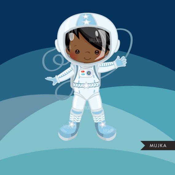 Astronaut clipart little. Boy graphics space rocket