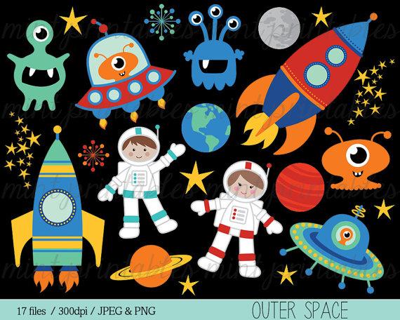 Planet clipart space party. Rocket spaceship rocketship astronaut