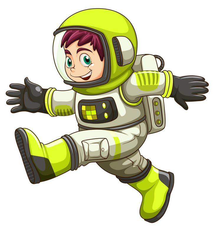 best alien space. Astronaut clipart printable