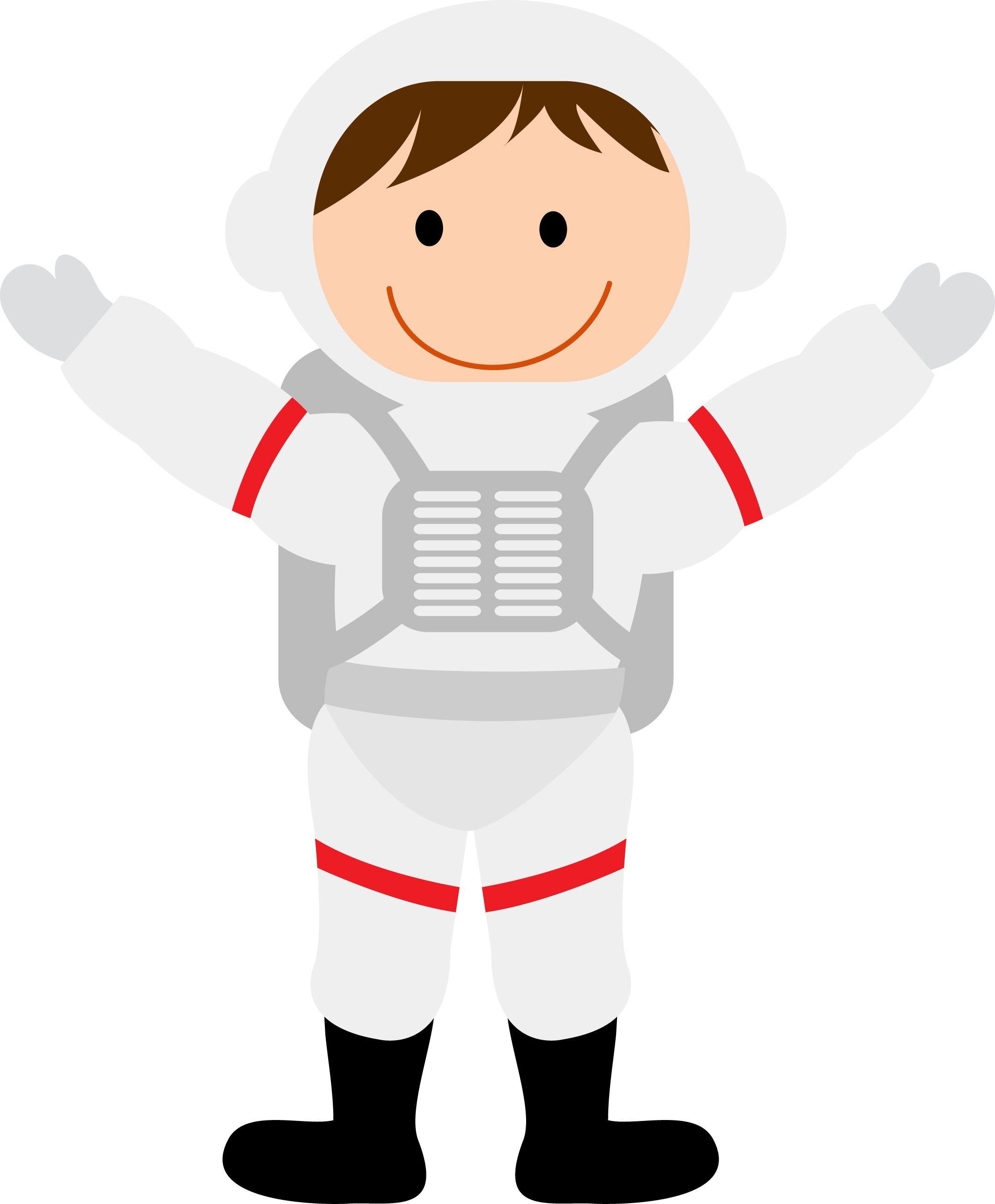 Pack with lesson plans. Astronaut clipart printable
