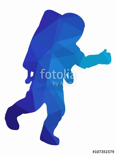 Astronaut clipart silhouette. At getdrawings com free