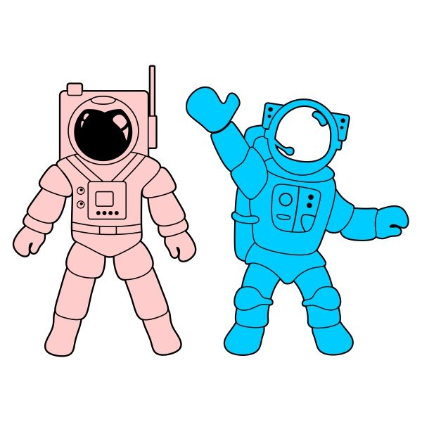 Astronaut clipart silhouette. Cuttable design cut file