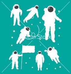 Vector google search tfs. Astronaut clipart silhouette