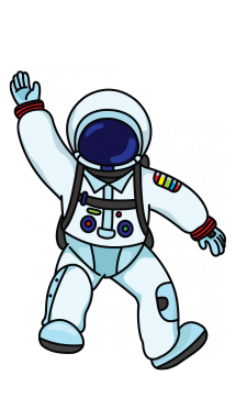 collection of tumblr. Astronaut clipart simple