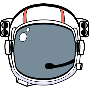 Space halmet cliparts of. Astronaut clipart tool