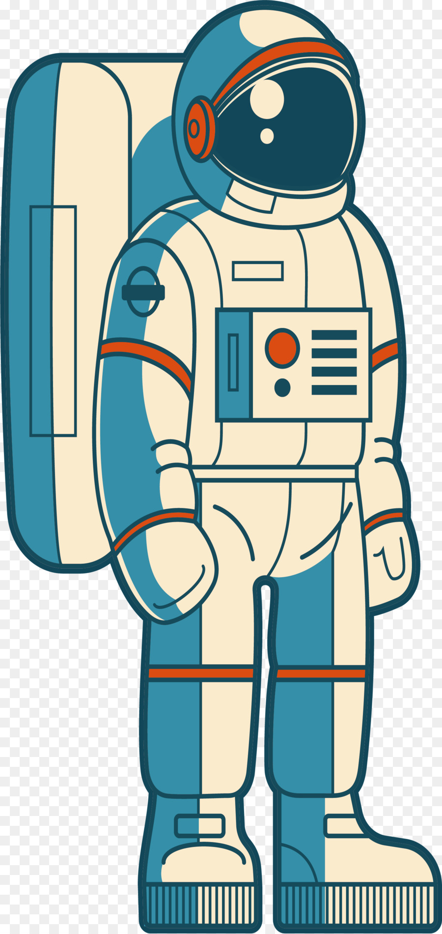 Outer space clip art. Astronaut clipart tool