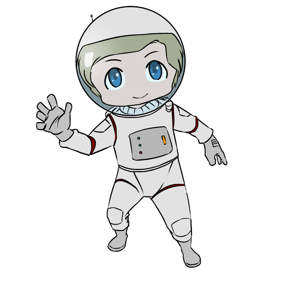 Girls clipart astronaut.  collection of transparent