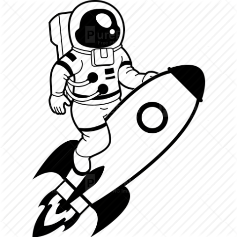 Astronaut clipart transparent background. Png image purepng free