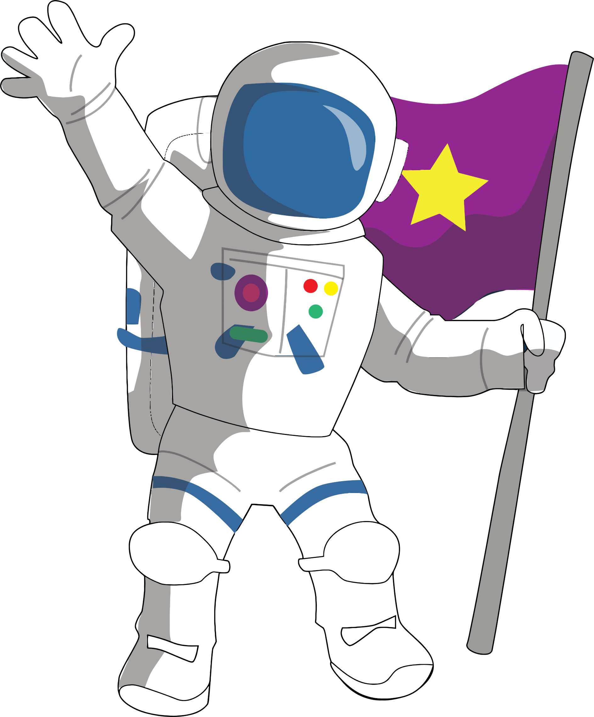Technology clipart space technology. Astronaut png images free