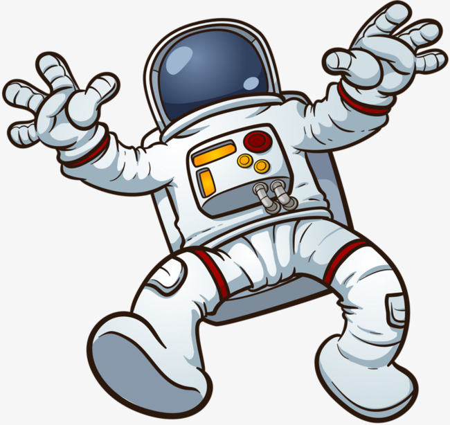 Astronaut clipart walking. Astronauts white science and