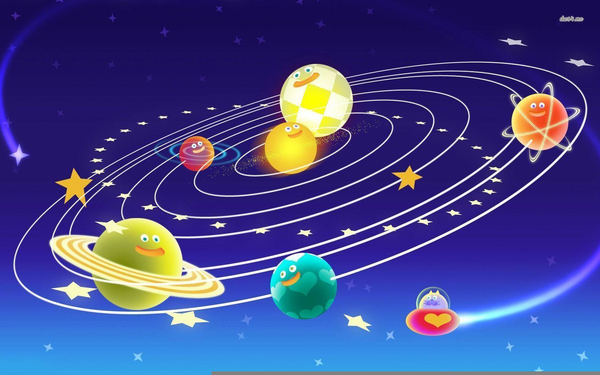 Free solar system images. Astronomy clipart animated