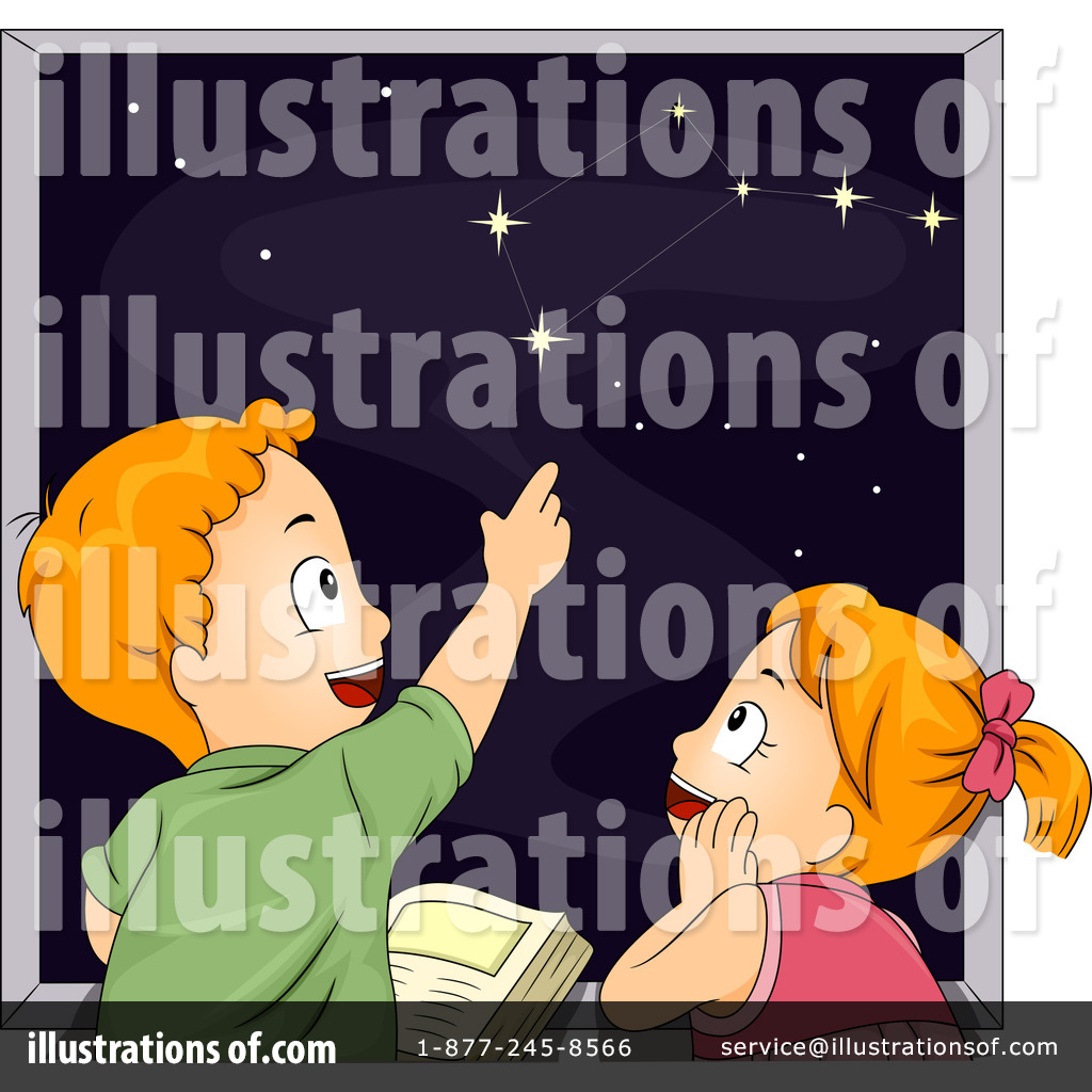 Illustration by bnp design. Astronomy clipart animated