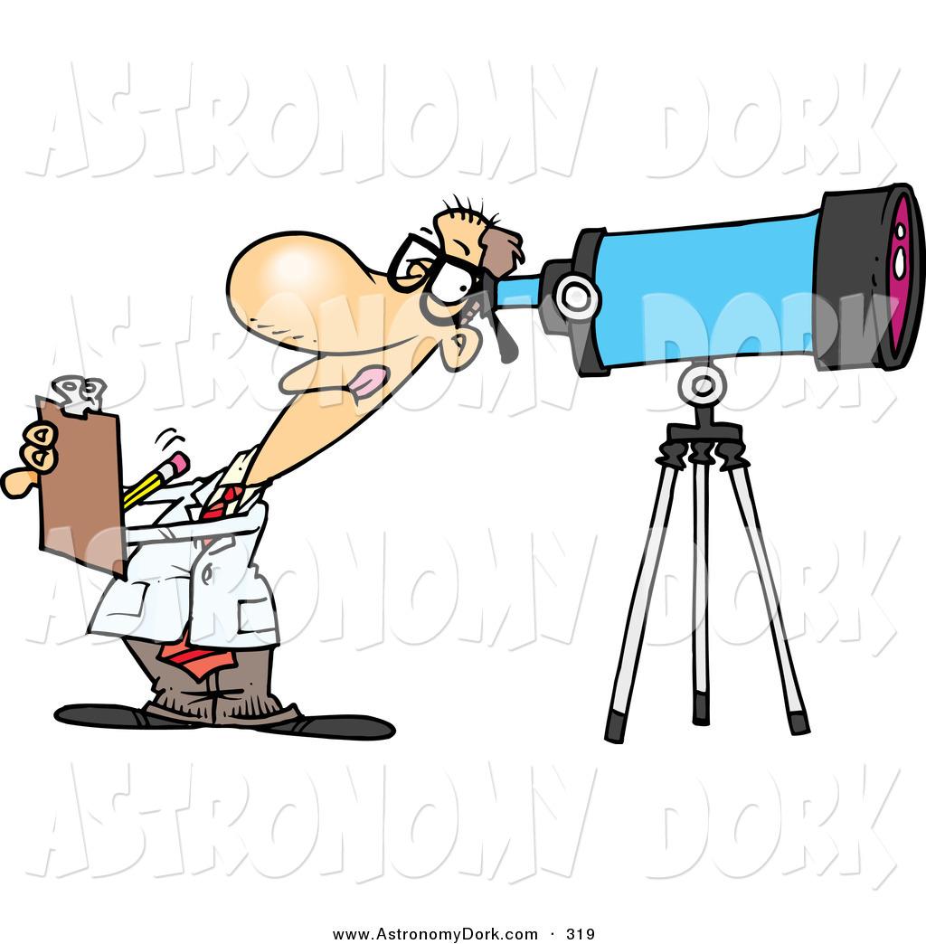 Astronomy clipart astronomer. Clip art of a