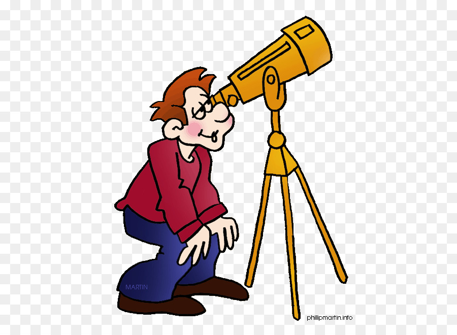 Astronomy clipart astronomer. Yellow background line