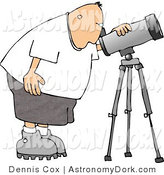 Royalty free stock designs. Astronomy clipart astrophysicist