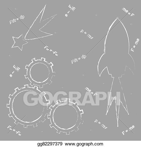 Astronomy clipart astrophysicist. Eps illustration drawing on