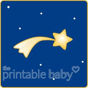 Shooting star celestial. Astronomy clipart baby