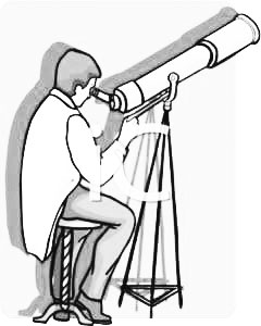 Astronomer panda free images. Astronomy clipart black and white