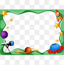 Png images vectors and. Astronomy clipart border
