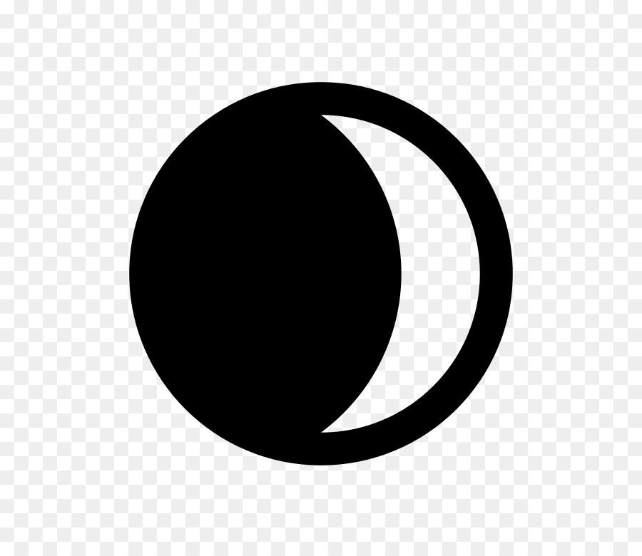 Lunar phase clip art. Astronomy clipart crescent moon