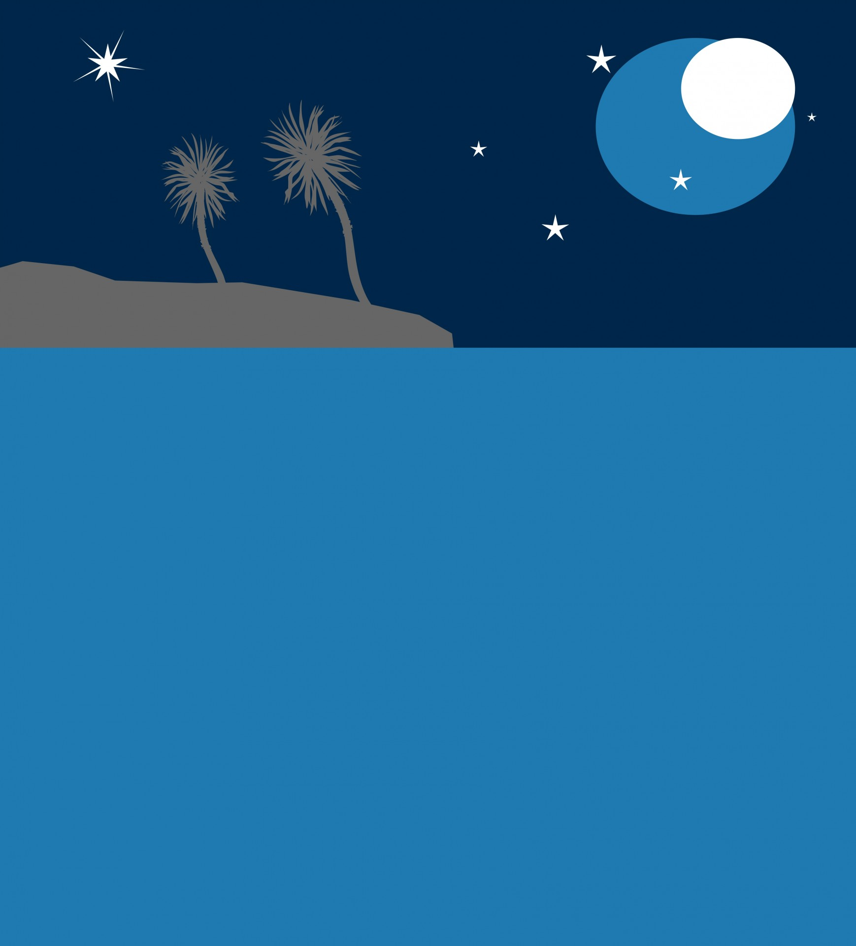 Background clipart night. Tropical backdrop free stock