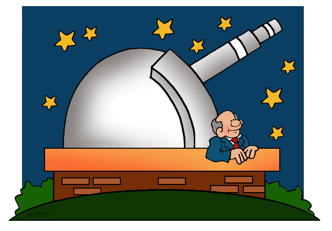 Outer space clip art. Astronomy clipart faraway