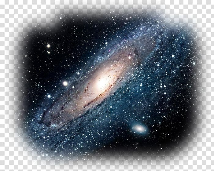 Light andromeda outer space. Galaxy clipart astronomy