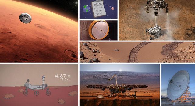 Unit activity nasa jpl. Galaxy clipart mission to mars