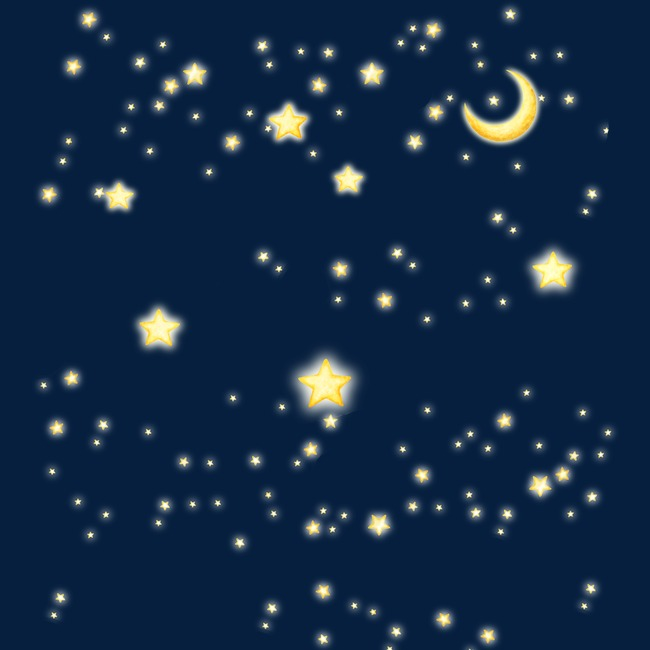 Astronomy clipart night sky. Star moon brilliant png