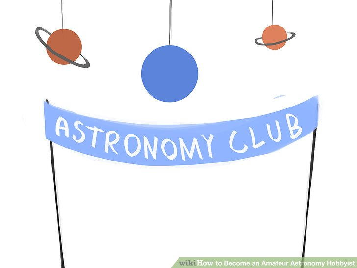 Astronomy clipart observer. How to become an