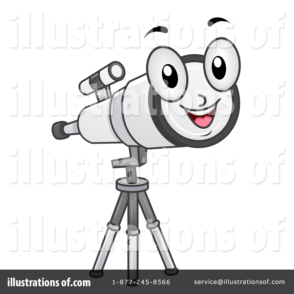 Astronomy clipart optical. Illustration by bnp design