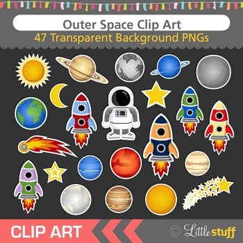 Clip art solar system. Astronomy clipart outer space