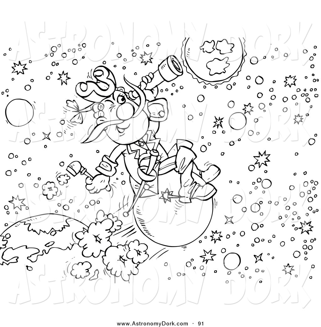 Clip art of a. Astronomy clipart outer space