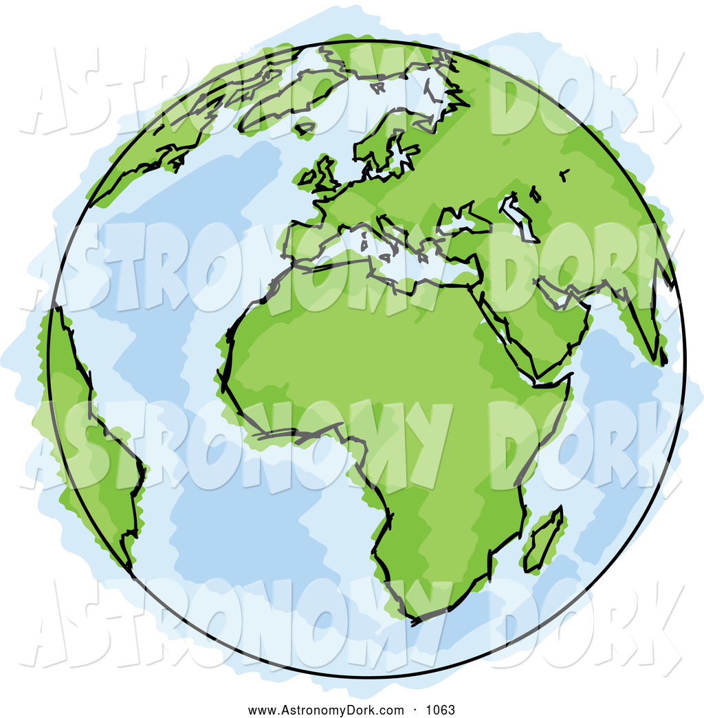 Clip art of a. Astronomy clipart planet