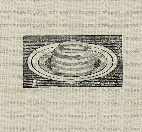 Vector graphic planet clip. Astronomy clipart saturn